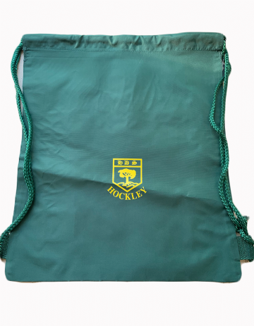 Hockley Infant P.E. Bag - Green